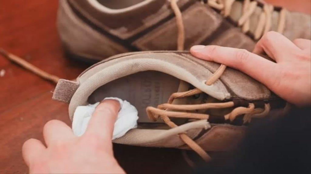 Обработка обуви, инструментов