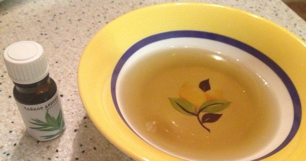 Масло чайного дерева от грибка ногтей