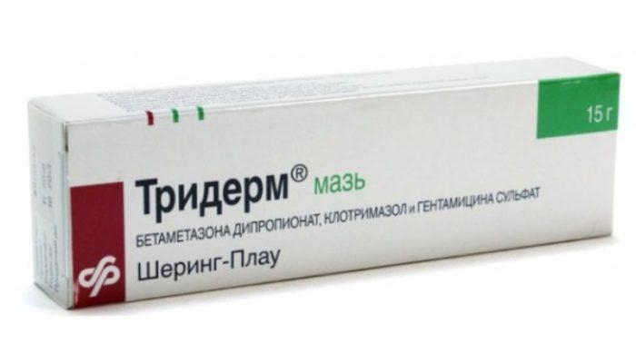 Тридерм триакутан пимафукорт крем
